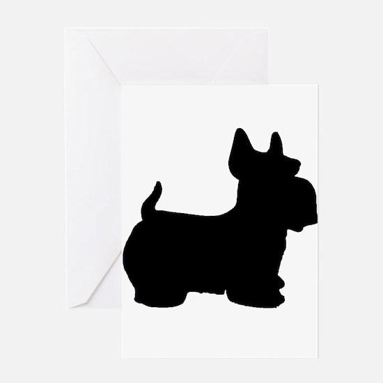 SCOTTY DOG Greeting Card