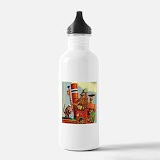 MONKEYS ON BOARD Water Bottle