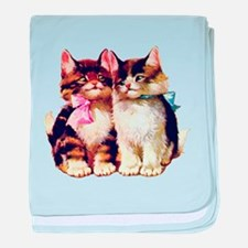 CATS MEOW baby blanket