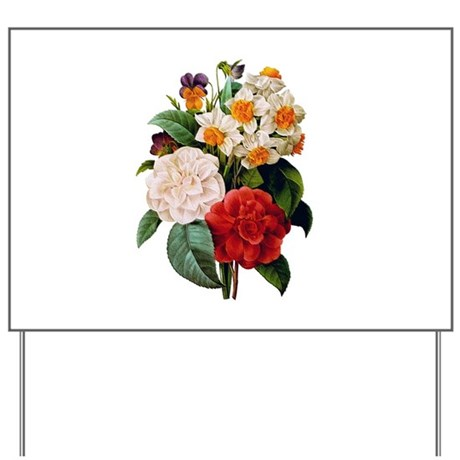CAMELIA BOUQUET Yard Sign
