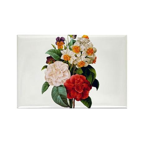 CAMELIA BOUQUET Rectangle Magnet (100 pack)