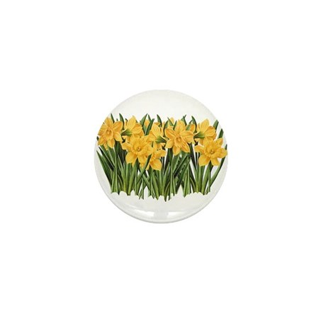 DAFFODILS Mini Button