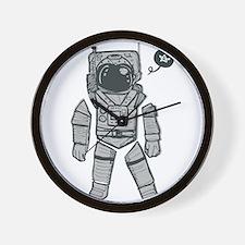 Cute Astronaut Wall Clock