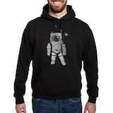 Astronaut Dark Hoodies