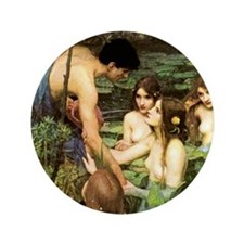HYLAS & THE NYMPHS Button