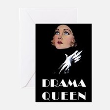 DRAMA QUEEN Greeting Cards (Pk of 10)