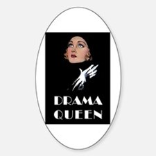 DRAMA QUEEN Sticker (Oval)