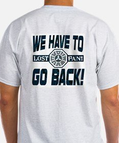 Lost Go Back 2 Sided T-Shirt
