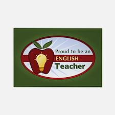 English Teacher Rectangle Magnet (10 pack)
