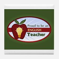 English Teacher Tile Coaster