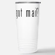 got mail? Stainless Steel Travel Mug