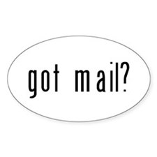 got mail? Decal