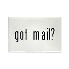 got mail? Rectangle Magnet