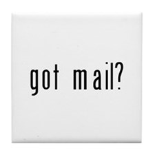 got mail? Tile Coaster