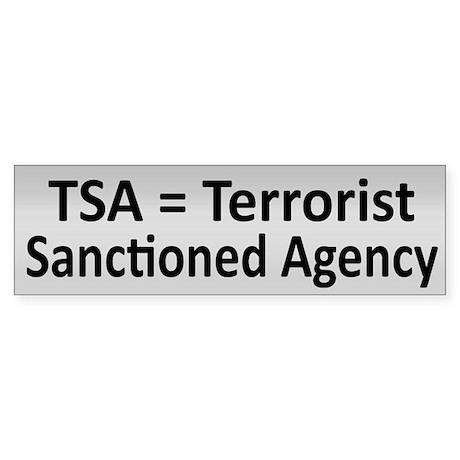 TSA - Sticker