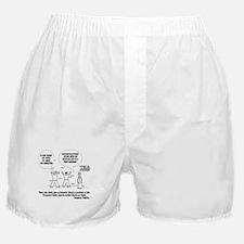 TSA Screening Searches Boxer Shorts