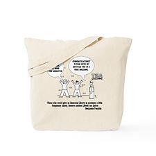 TSA Screening Searches Tote Bag