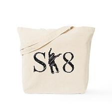 SK8 skateboarding Tote Bag