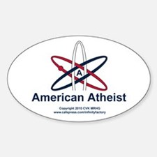 Atheist American Decal