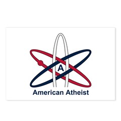 Atheist American Postcards (Package of 8)