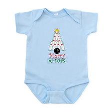 X-mas Bowler Infant Bodysuit