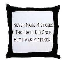 Mistaken Throw Pillow