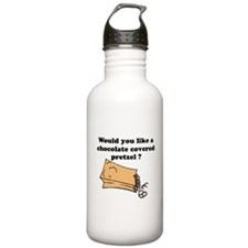 Chocolate covered pretzel Water Bottle