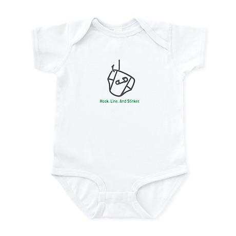 Fishing Hook - Infant Bodysuit (Green)