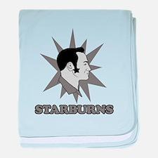 Starburns baby blanket