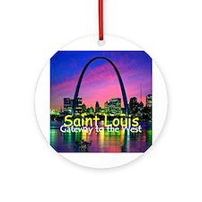 St. Louis Ornament (Round)