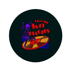 """Jazz Records 3.5"""" Button (100 pack)"""