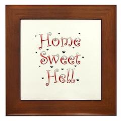 Sweet Home Framed Tile