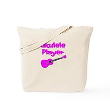 girls pink ukulele Tote Bag