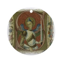Gothic Angel : Art Pendant - Ornament