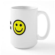 Money equals happiness Mug
