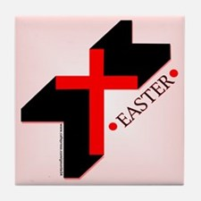 Easter Cross Tile Coaster