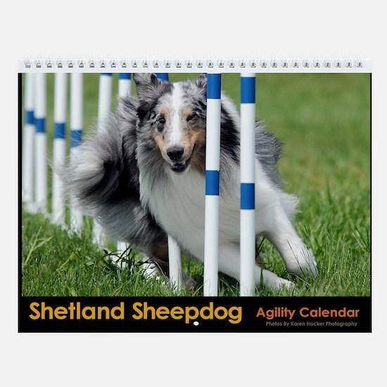Shetland Sheepdog Agility Calendar