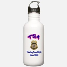 TSA Violating Your Rights Water Bottle