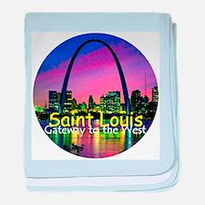 St. Louis baby blanket
