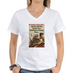 Denied Area Women's V-Neck T-Shirt