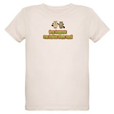 Two beavers are better than o T-Shirt