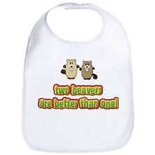 Two beavers are better than o Bib