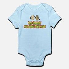 Two beavers are better than o Infant Bodysuit