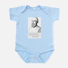 Aeschylus' Epitaph Infant Bodysuit