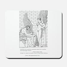Daedalus and Icarus (Ovid) Mousepad