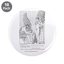 "Daedalus and Icarus (Ovid) 3.5"" Button (10 pa"