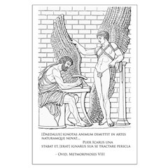 Daedalus and Icarus (Ovid) Posters