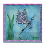 Dragonfly framed tiles Home Accessories