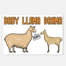 Baby Llama Drama Postcards (Package of 8)