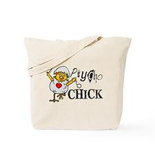 Psycho Chick Tote Bag
